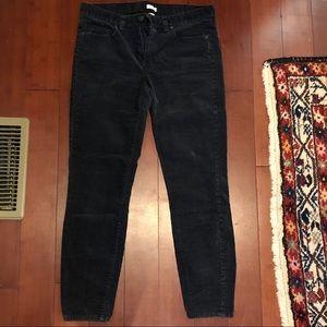 J. Crew Pants - J.Crew Charcoal Corduroy Pants